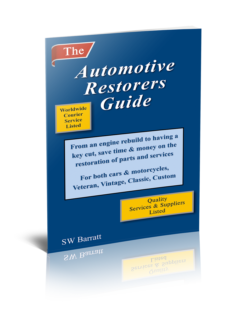 Automotive Restorers Guide Ebook Mock-up Image