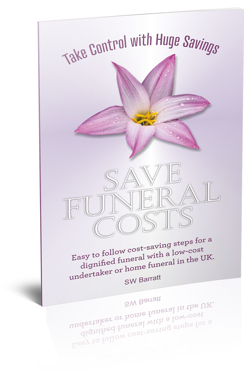 Save Funeral Costs Ebook Mock-up Image